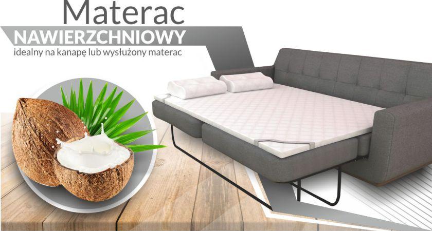 Wspaniały Nakładka materac nawierzchniowy KOKOS 4 cm 140x200 - kup online OQ32